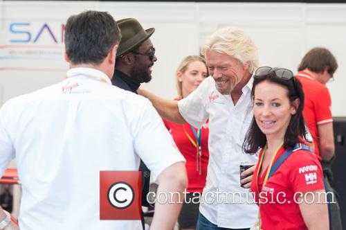 Will.i.am and Sir Richard Branson 7