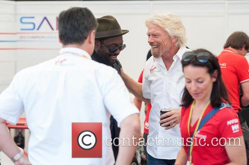 Will.i.am and Sir Richard Branson 8