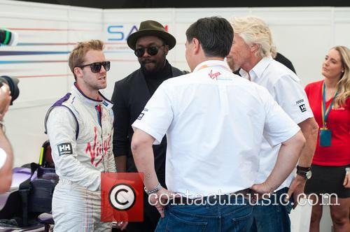 Will.i.am and Sir Richard Branson 9