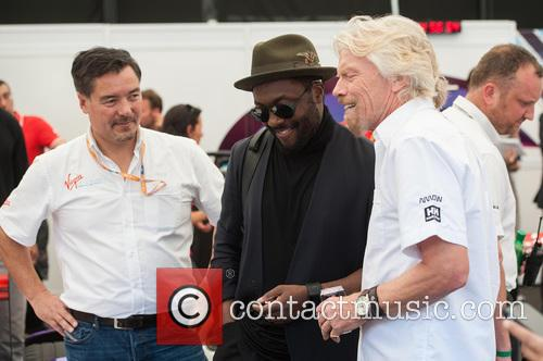 Will.i.am and Sir Richard Branson 10