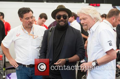 Will.i.am and Sir Richard Branson 11