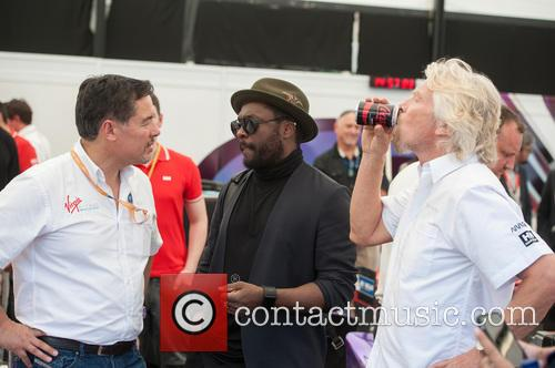 Will.i.am and Sir Richard Branson 1