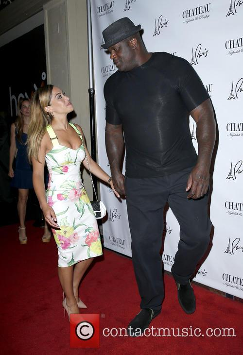 Laticia Rolle and Shaquille O'neal 2