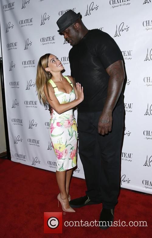 Laticia Rolle and Shaquille O'neal 1