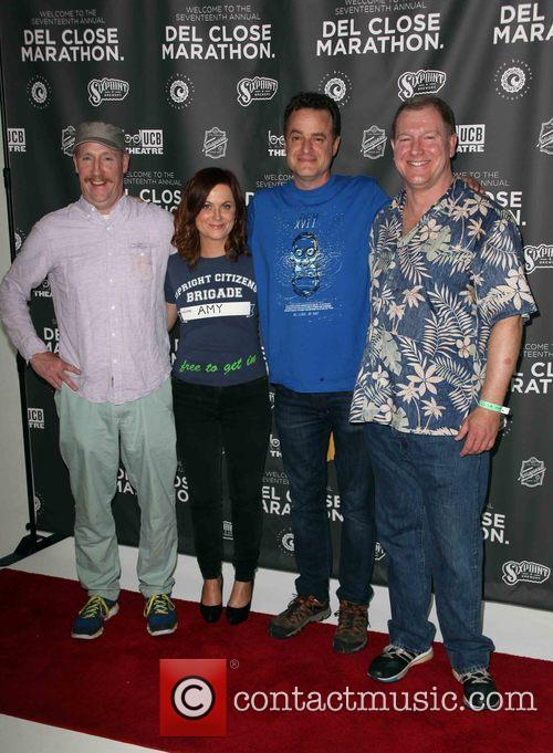 Matt Walsh, Amy Poehler, Matt Besser and Ian Roberts