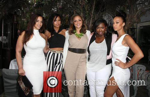 Dascha Polanco, Cassie Ventura, Erin Harris, Marilyn Van Alstyne and Draya Michele 9