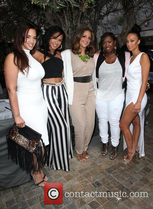 Dascha Polanco, Cassie Ventura, Erin Harris, Marilyn Van Alstyne and Draya Michele 11