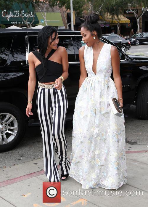 Cassie Ventura and April Jones 11