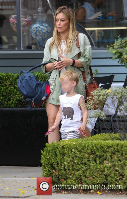 Hilary Duff and Luca Cruz Comrie 11