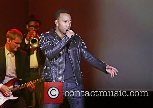 John Legend performs live in Manchester
