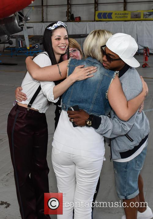 Bradley Mcintosh, Jo O'meara and Tina Barrett 7