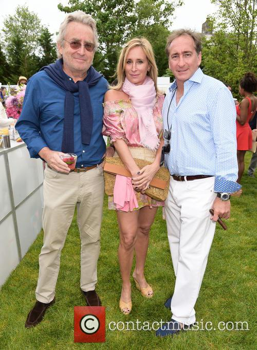 Count Alex De Lesseps, Sonja Morgan and Bradford Rand 3