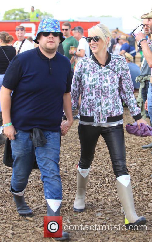 James Corden and Julia Carey 4