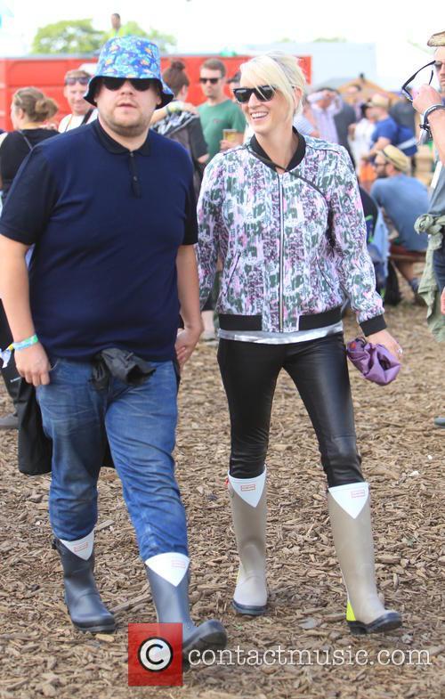 James Corden and Julia Carey 5