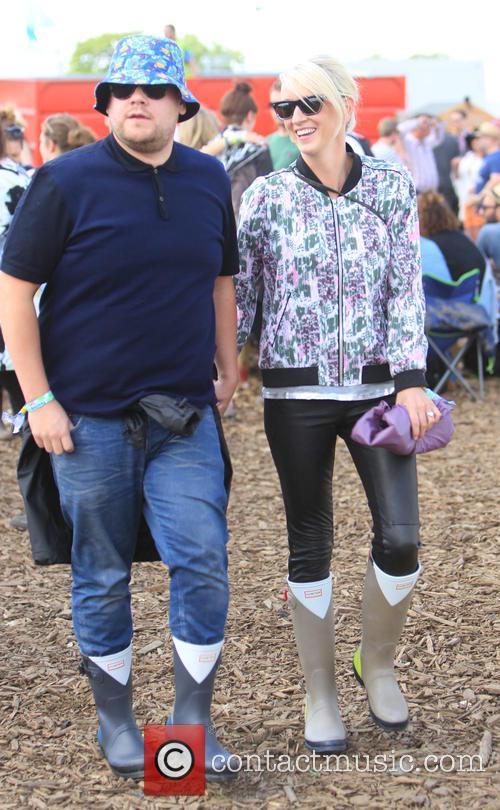James Corden and Julia Carey 6