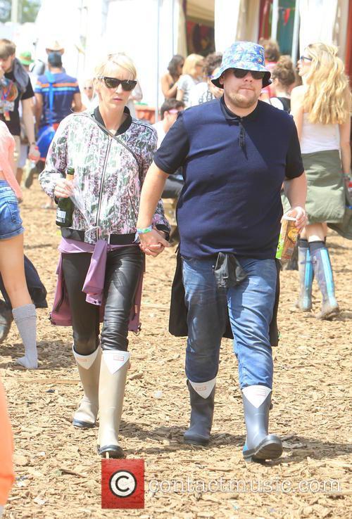 James Corden and Julia Carey 7