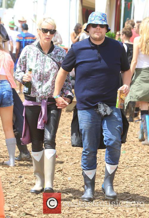 James Corden and Julia Carey 9