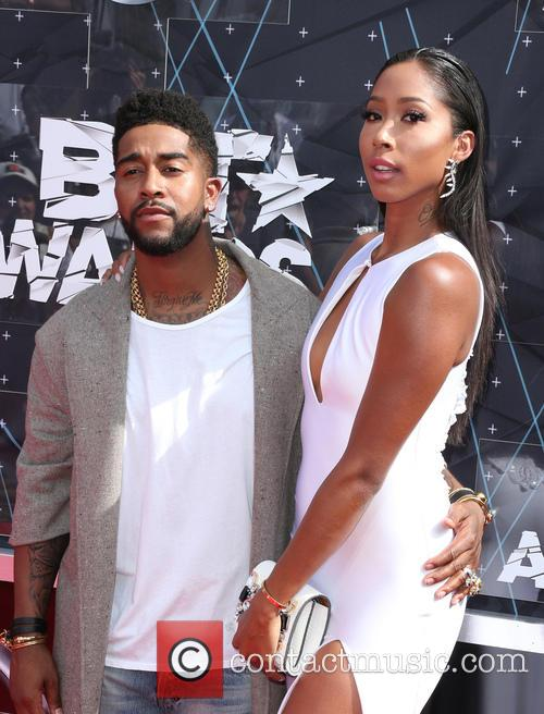 Omarion and Apryl Jones 1