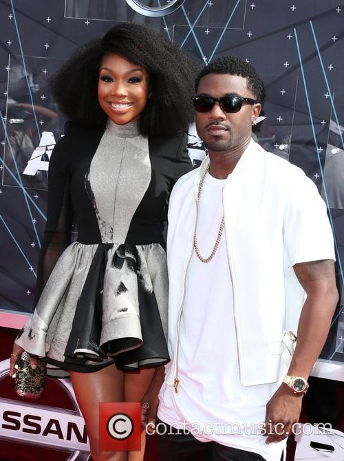Brandy Norwood and Ray J 1