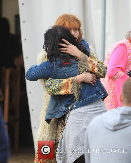 Florence Welsh and Pixie Geldof 5