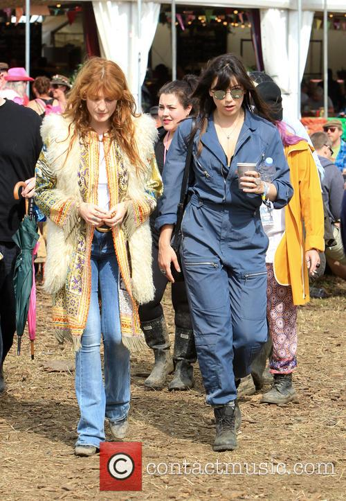 Florence Welsh and Daisy Lowe 8