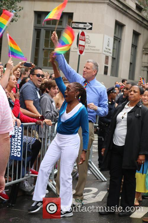 Nyc Mayor Bill De Blasio and First Lady Chirlane Mccray 2