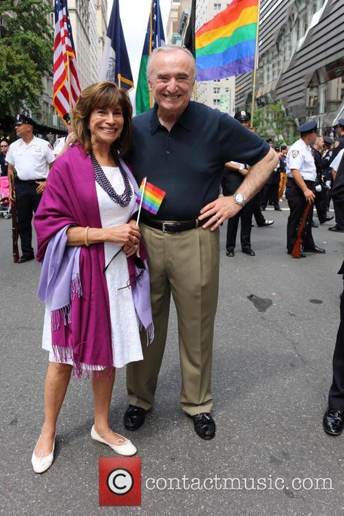 Rikki Klieman and Nyc Police Commissioner Bill Bratton 2