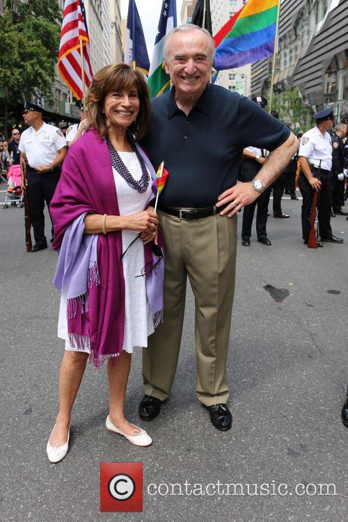 Rikki Klieman and Nyc Police Commissioner Bill Bratton 1