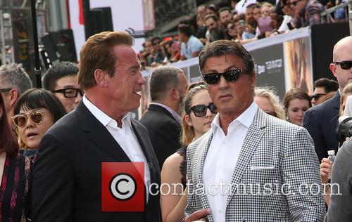 Arnold Schwarzenegger and Sylvester Stallone 2