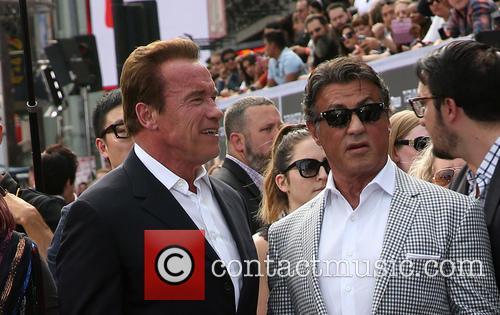 Arnold Schwarzenegger and Sylvester Stallone 3