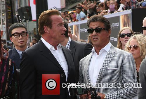 Arnold Schwarzenegger and Sylvester Stallone 1