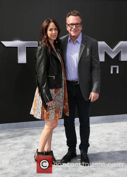 Ashley Groussman and Tom Arnold 2