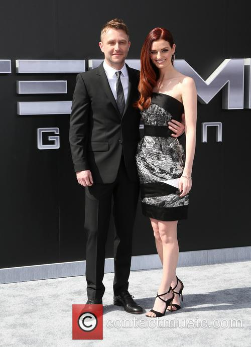 Chris Hardwick and Lydia Hearst 2