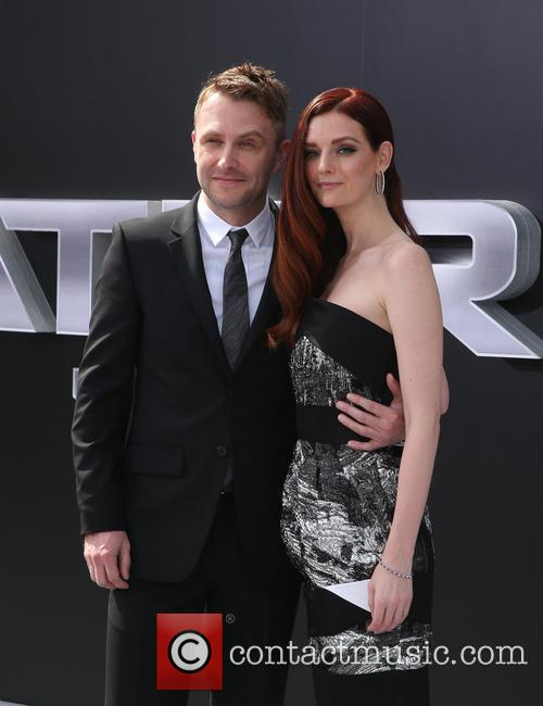 Chris Hardwick and Lydia Hearst 11