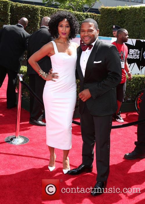 Tracee Ellis Ross and Anthony Anderson 1