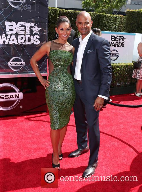 Salli Richardson-whitfield and Dondre Whitfield 4