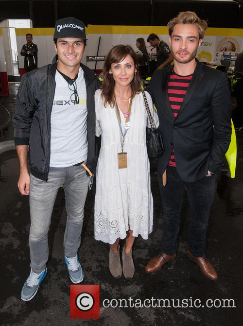 Nelson Piquet Jr., Natlie Imbruglia and Ed Westwick 3