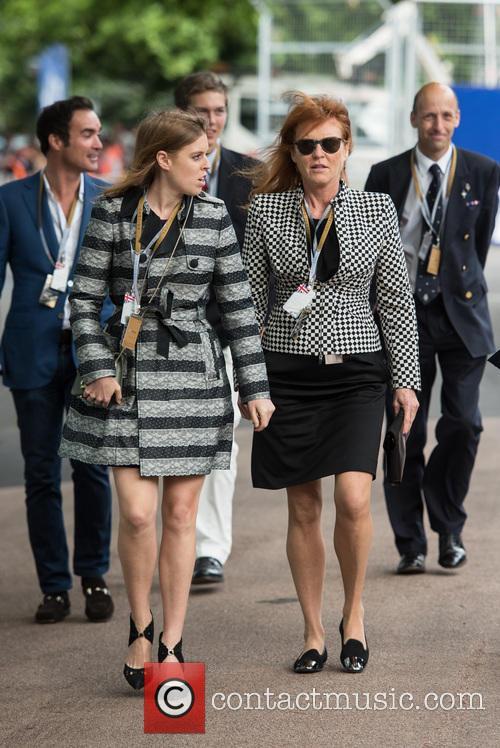 Princess Beatrice, Sarah Ferguson and Duchess Of York 5