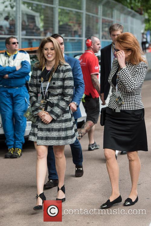 Princess Beatrice, Sarah Ferguson and Duchess Of York 6