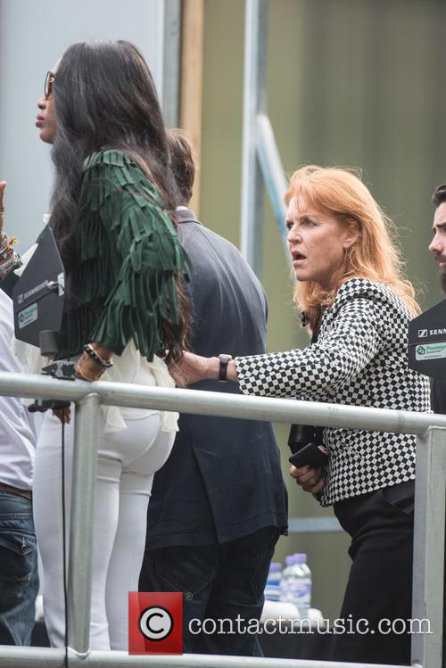 Naomi Campbell, Sarah Ferguson and Duchess Of York 2
