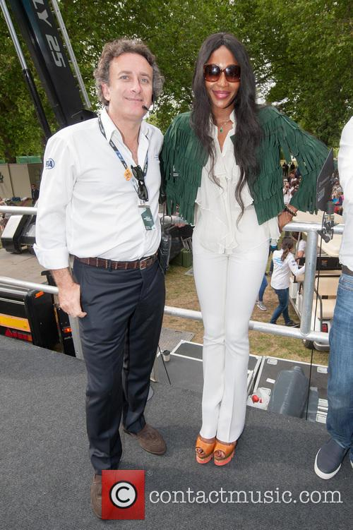 Naomi Campbell and Alejandro Agag 6