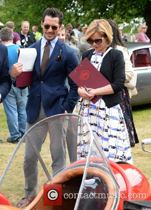 David Gandy and Darcey Bussell 3