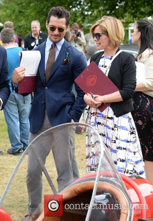David Gandy and Darcey Bussell 4