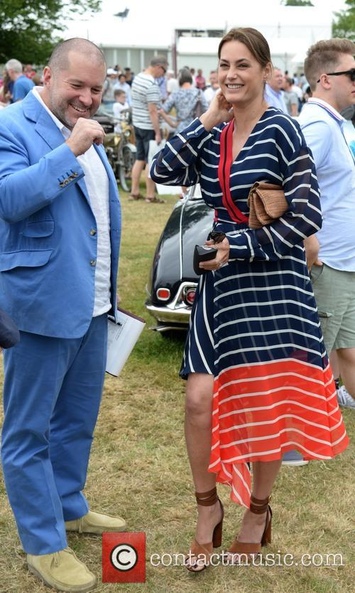 Sir Jonathan Ive and Yasmin Le Bon 1