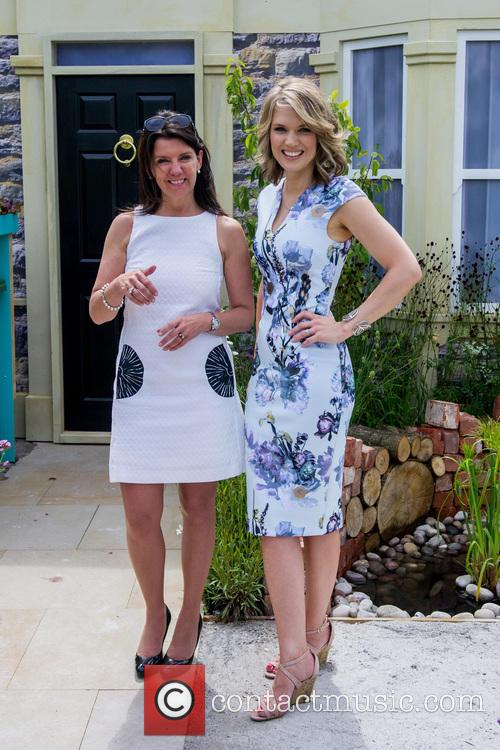 Dr Dawn Harper, Embarrassing Bodies, Charlotte Hawkins and Newsreader 2
