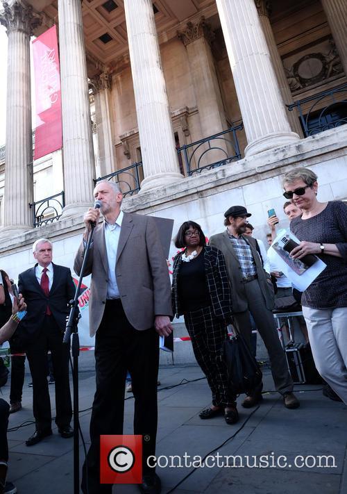 Jeremy Corbyn, Diane Abbott, John Mcdonnell and Caroline Lucas 2