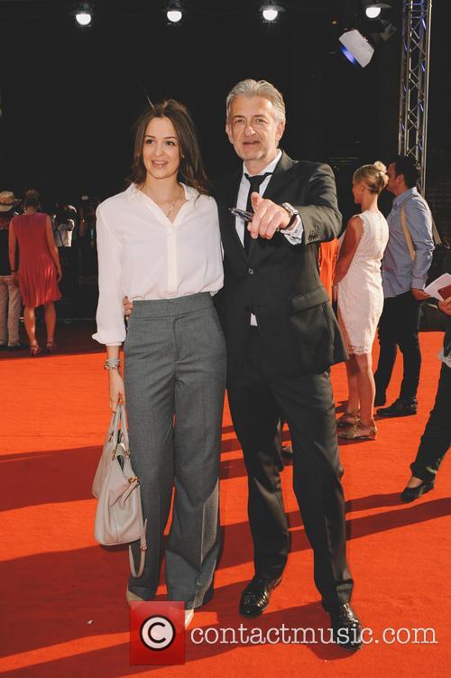 Dominic Raacke and Alexandra Rohleder