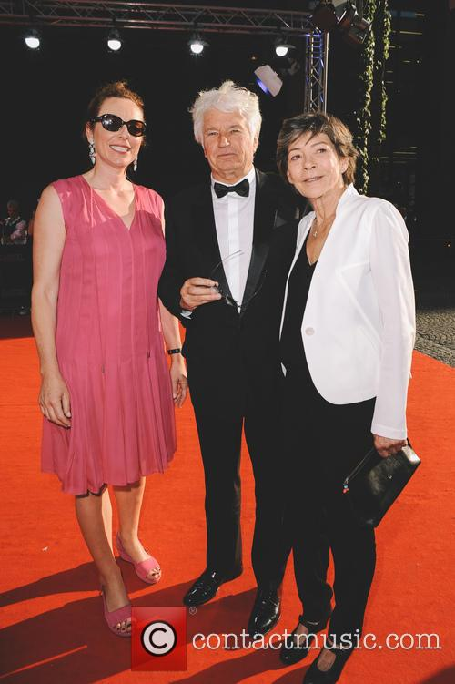 Diana Iljine, Laurence Annaud and Jean-jacques Annaud 2