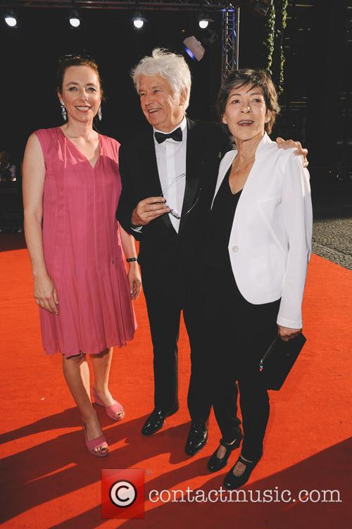Diana Iljine, Laurence Annaud and Jean-jacques Annaud 1