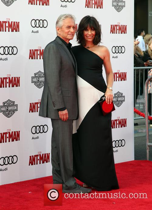 Michael Douglas and Evangeline Lilly 2